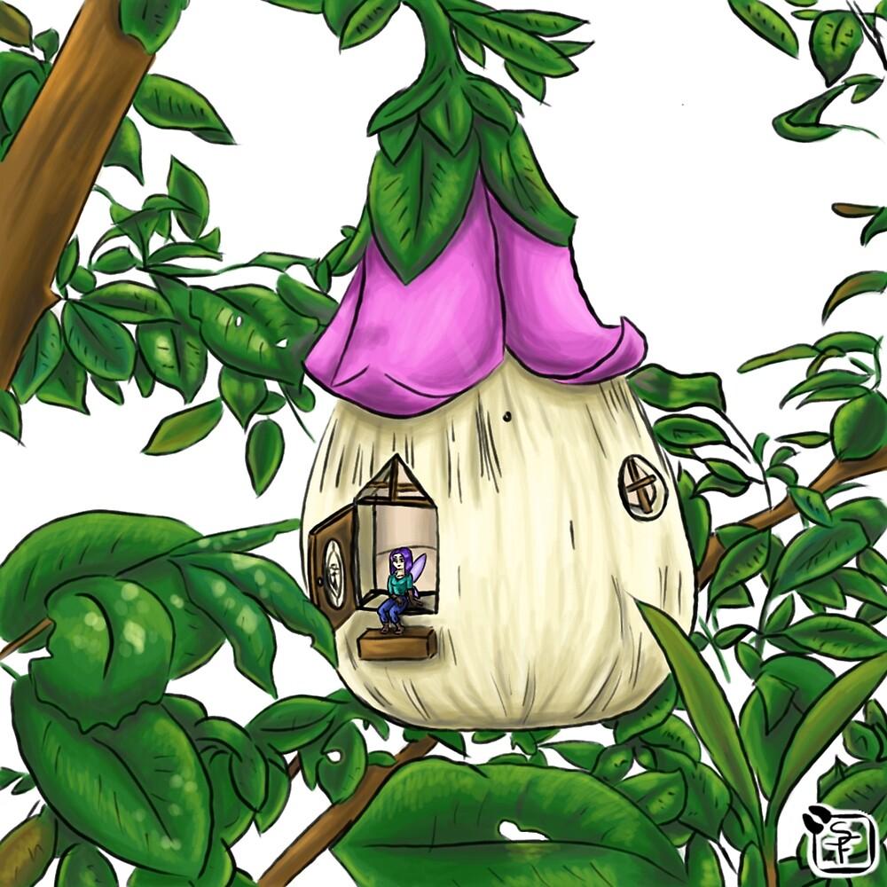 Fairy House by SonneFaunArt