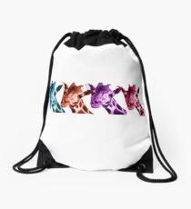 Giraffe Funny Color Heads Shirt Drawstring Bag
