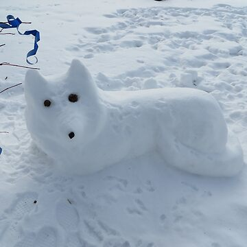 Snow Dog by Margarite75