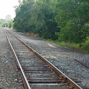 Down the tracks in NH by shawphotography
