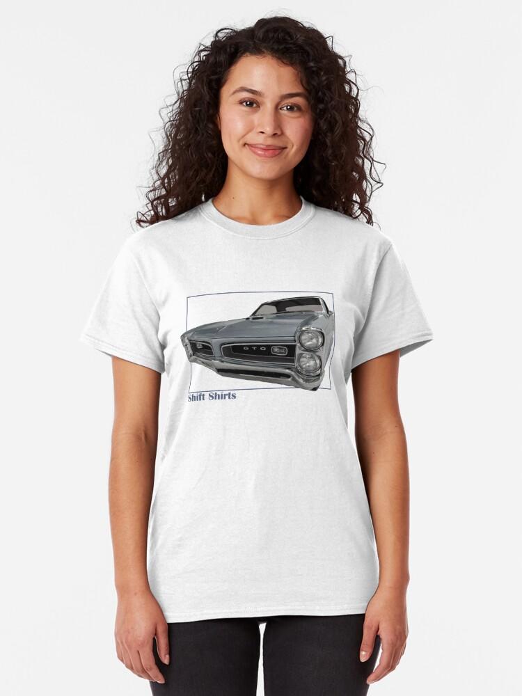 Alternate view of Shift Shirts Goat - GTO Inspired  Classic T-Shirt