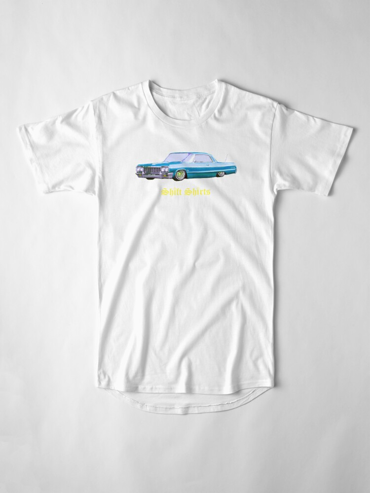 Alternate view of Shift Shirts Lowrider - 64 Impala Inspired Long T-Shirt