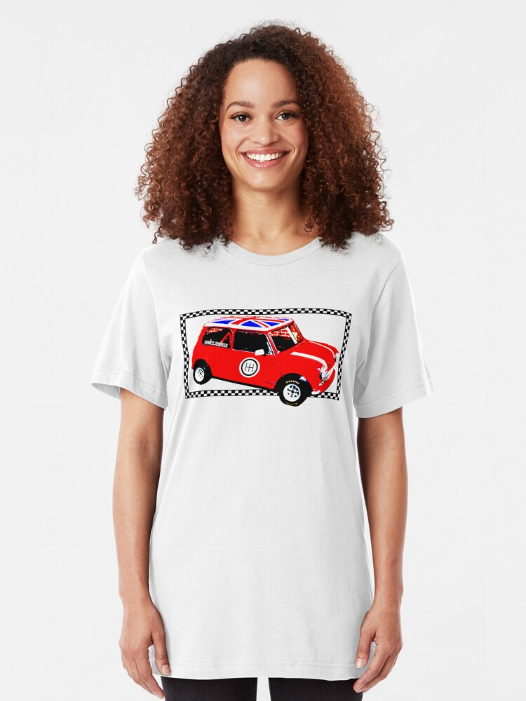 Alternate view of Shift Shirts Small Packages – Morris Mini Cooper Inspired Slim Fit T-Shirt