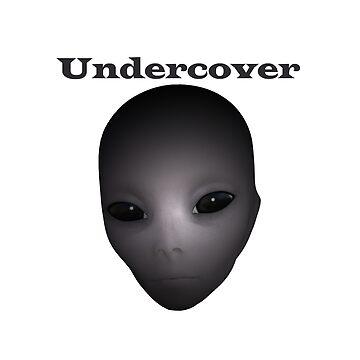 Undercover Alien by designblue