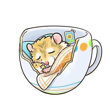 Sleeping cup by pawlove