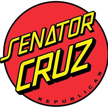 "Senator Cruz ""Skateboard"" logo by FoniMoni"