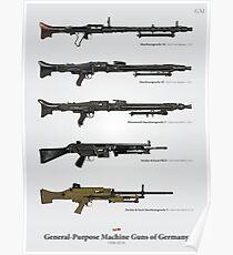 German General-Purpose Machine Guns Poster