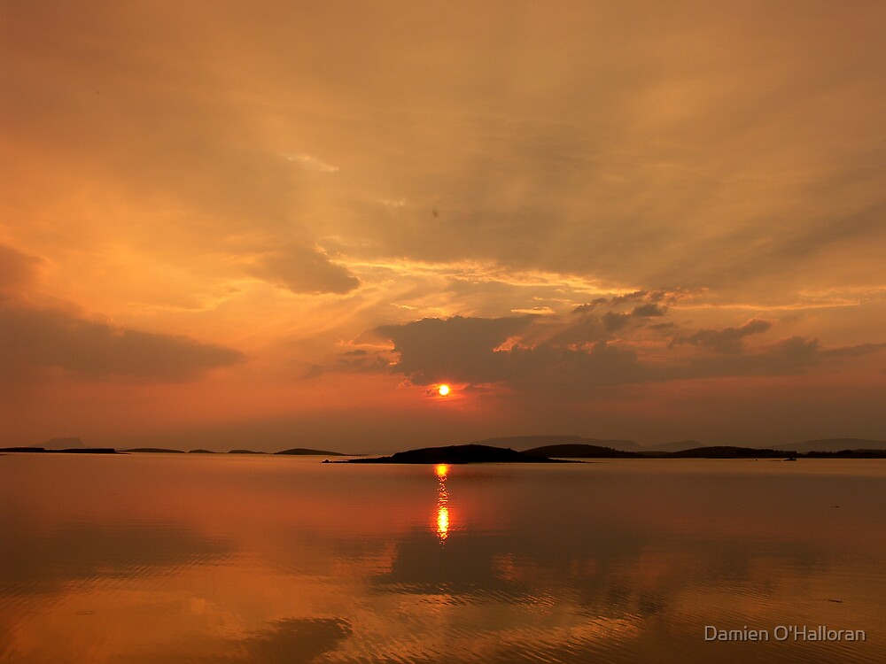 Clew Bay Sunset by Damien O'Halloran