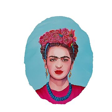 Frida Kahlo - Oil Painting  by ArtbyCPolidano