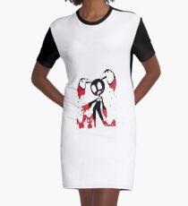 Bunny Graphic T-Shirt Dress