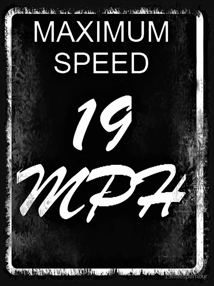 19 MPH Logo Inverted by 19milesperhour