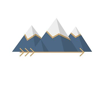 Aten - Mountain Logo by madebytinydinos