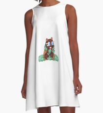 Woodland Creature A-Line Dress