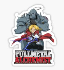 FULLMETAL ALCHEMIST! The Elric Bros! Sticker