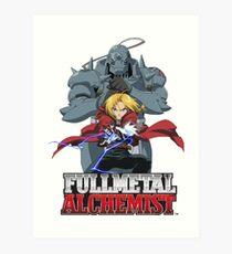 FULLMETAL ALCHEMIST! The Elric Bros! Art Print