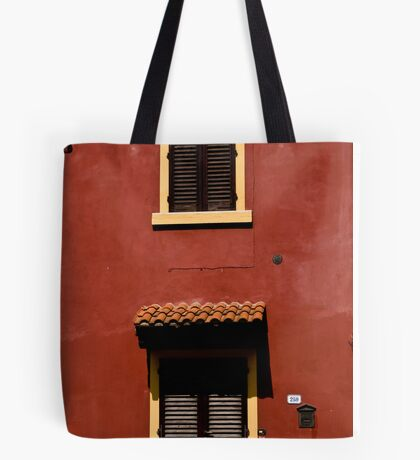 Red House, Yellow Frames Tote Bag
