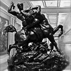 Griechische Skulptur aus der Antike von Saundra Myles