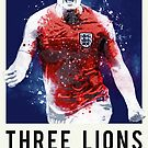 Three Lions On A Shirt by tookthat