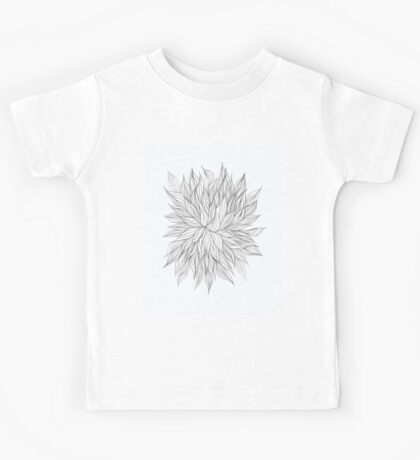 Lovely Lined Leaves Kids Clothes
