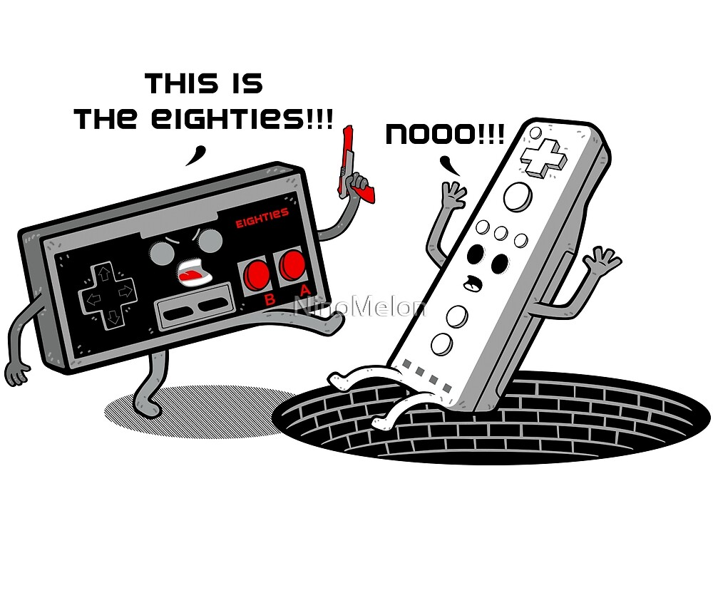This is the eighties! Nes by NinoMelon
