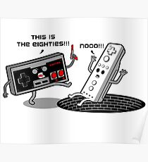 This is the eighties! Nes Poster