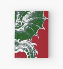 Italy Lover Italian Culture Italian American Dragon Gift Banner Hardcover Journal