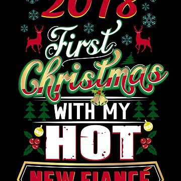 First Christmas With Hot New Fiance 2018 Engaged Couple by JapaneseInkArt