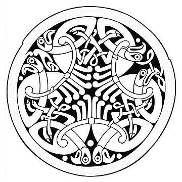 Celtic - Herons. by timothybeighton