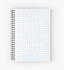 Hard Wired To It Spiral Notebook