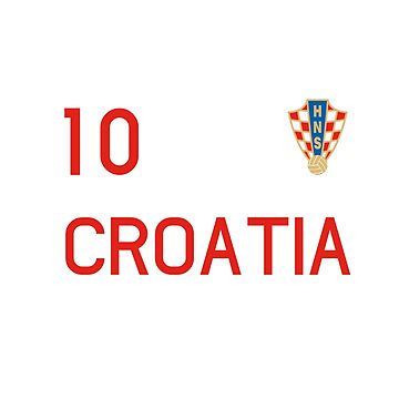croatia t shirt  by midonet