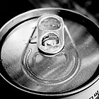 Pop Can in Black & White by Hunniebee