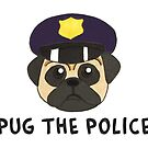 Pug the Police by lynnzypuff