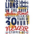 three lions on the shirt by tookthat