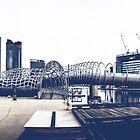Docklands Webb Bridge by Andrew Wilson