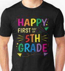 5th Grade Teacher Shirts Back To School T-Shirt Unisex T-Shirt