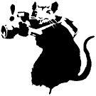 Banksy - Paparazzi-Ratte von streetartfans