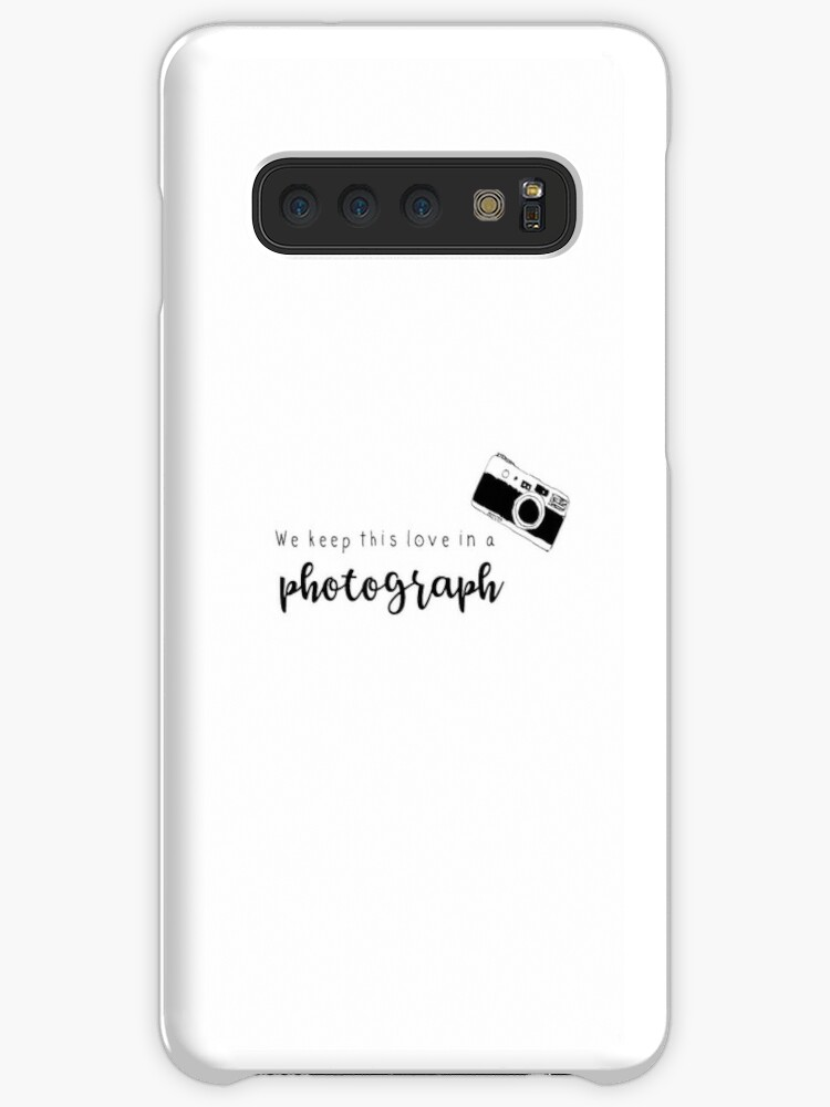 ''Photograph' - Ed Sheeran Lyrics' Case/Skin for Samsung Galaxy by amhooper