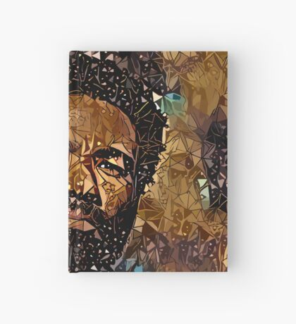 Abstract Childish Gambino Hardcover Journal
