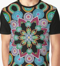 Red Star Mandala - Art&Deco By Natasha Graphic T-Shirt