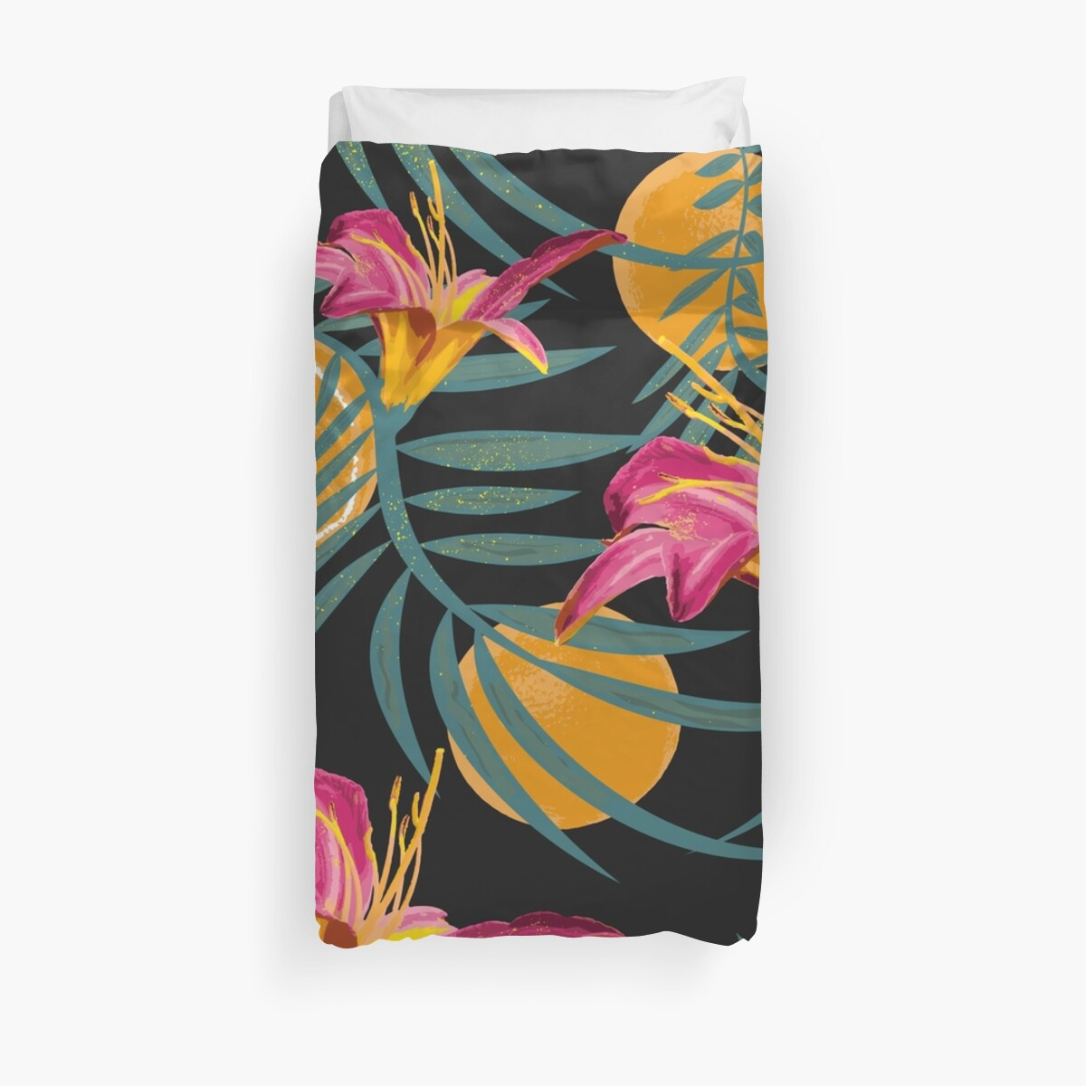 Plants Flowers and Your Orange Fruit by patternbyjensen