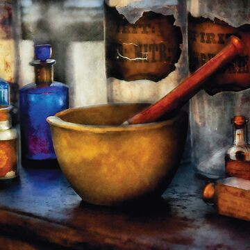 Pharmacist - Mortar and Pestle by mikesavad