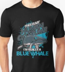 Blue whale costume animal Unisex T-Shirt