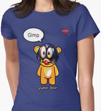 Geek Girl - SwearBear - GIMP T-Shirt