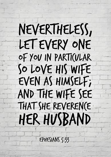 bible verses about husband and wife