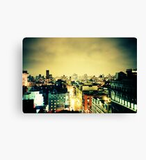 Greenwich Village Skyline Canvas Print
