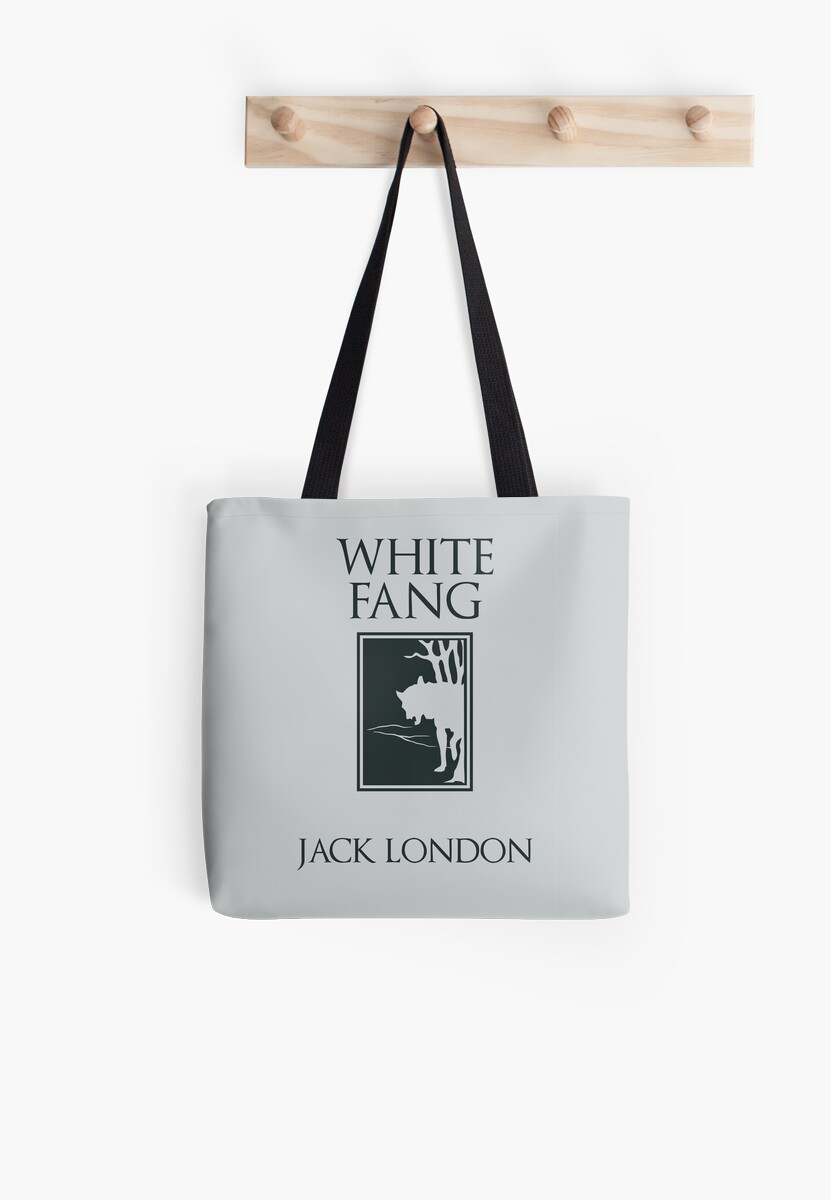 White Fang Jack London book cover\' Tote