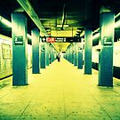 Subway Platform by cormacphelan
