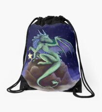 Dragon Star Drawstring Bag