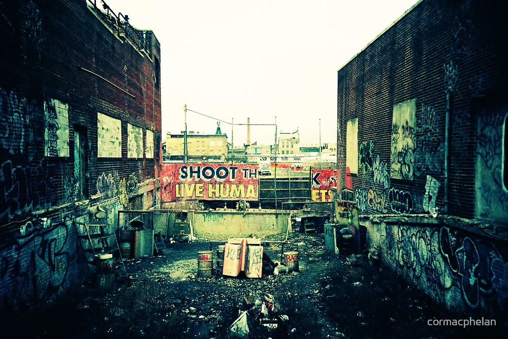 Shoot the Live Human by cormacphelan