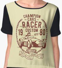 RACING CARS Chiffon Top